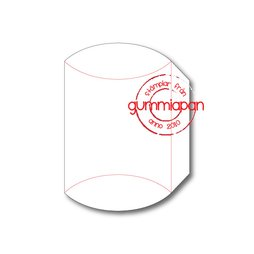 Gummiapan Stanzschablone D180213 - Pillowbox Box...