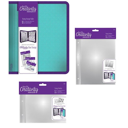 Creativity Essentials Koffer SET Clearstamps Gummistempel Docrafts + Hüllen