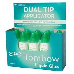 10x Tombow Multi Talent Liquid Glue Kleber 2 Spitzen...