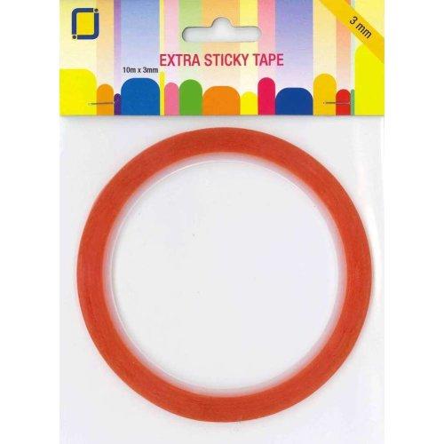 extra sticky tape 10 mtr x 3 mm doppelseitiges klebeband. Black Bedroom Furniture Sets. Home Design Ideas