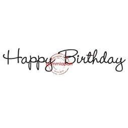 Gummiapan Gummistempel 14060203 - Happy Birthday...