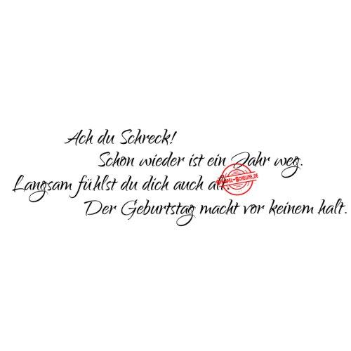 Stempel Scheune Gummistempel 82 Geburtstag Spruch Alt Humor Karte