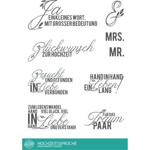 Stempel Scheune Stempelset Ssc003 Hochzeitsspruche Hochzeit Liebe