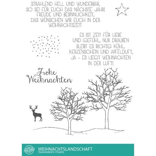 Stern Frohe Weihnachten.Stempel Scheune Stempelset Ssc014 Frohe Weihnachten Baum Rentier Schnee Stern