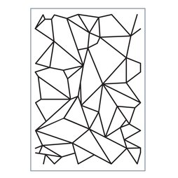 Emboss It Prägeschablone Graphic Lines - 11 x 15 cm A6...