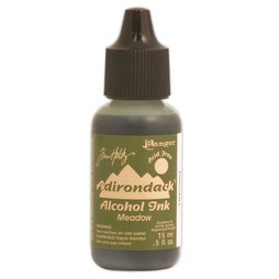 Adirondack Alcohol Ink Tim Holtz Ranger - Meadow Grün...