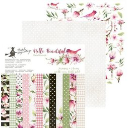 Piatek13 Paper Pad Hello Beautiful - 15 x 15 cm 24...