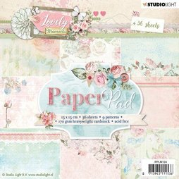 StudioLight Paper Pad Lovely Moments - 15 x 15 cm 36...
