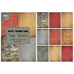 Joy!Crafts Artist Trading Card Tough Textures 8,5 x 6 cm...