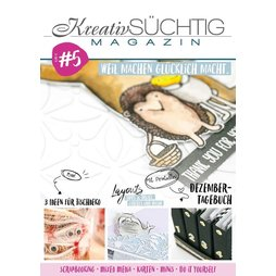 Kreativsüchtig Magazin Nr. 5 - Scrapbooking Mixed Media...