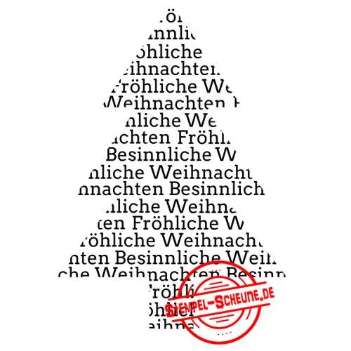 Frohe Weihnachten Text.Stempel Scheune Gummistempel 233 Tannenbaum Frohe Frohliche Weihnachten Text