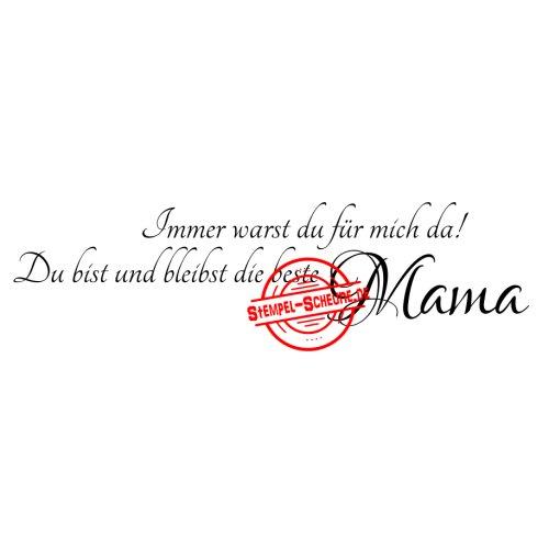 Stempel Scheune Gummistempel 236 Beste Mama Mutter Spruch Tochter
