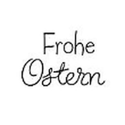 Dini Design Gummistempel 209 - Frohe Ostern - Spruch...